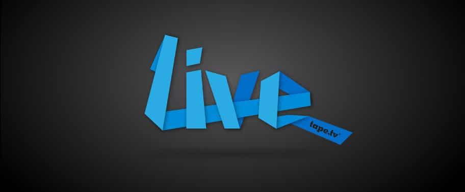 Logo gestaltung: tape.tv – Live