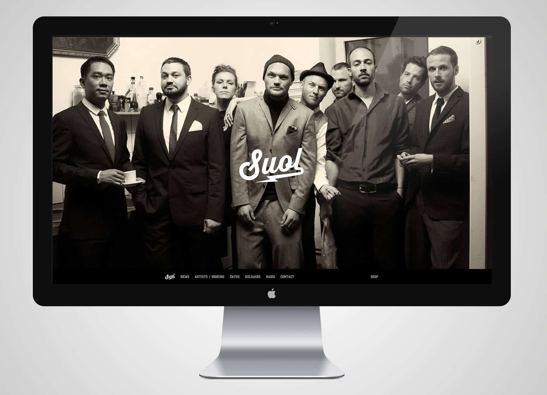 Redesign der Suol Website