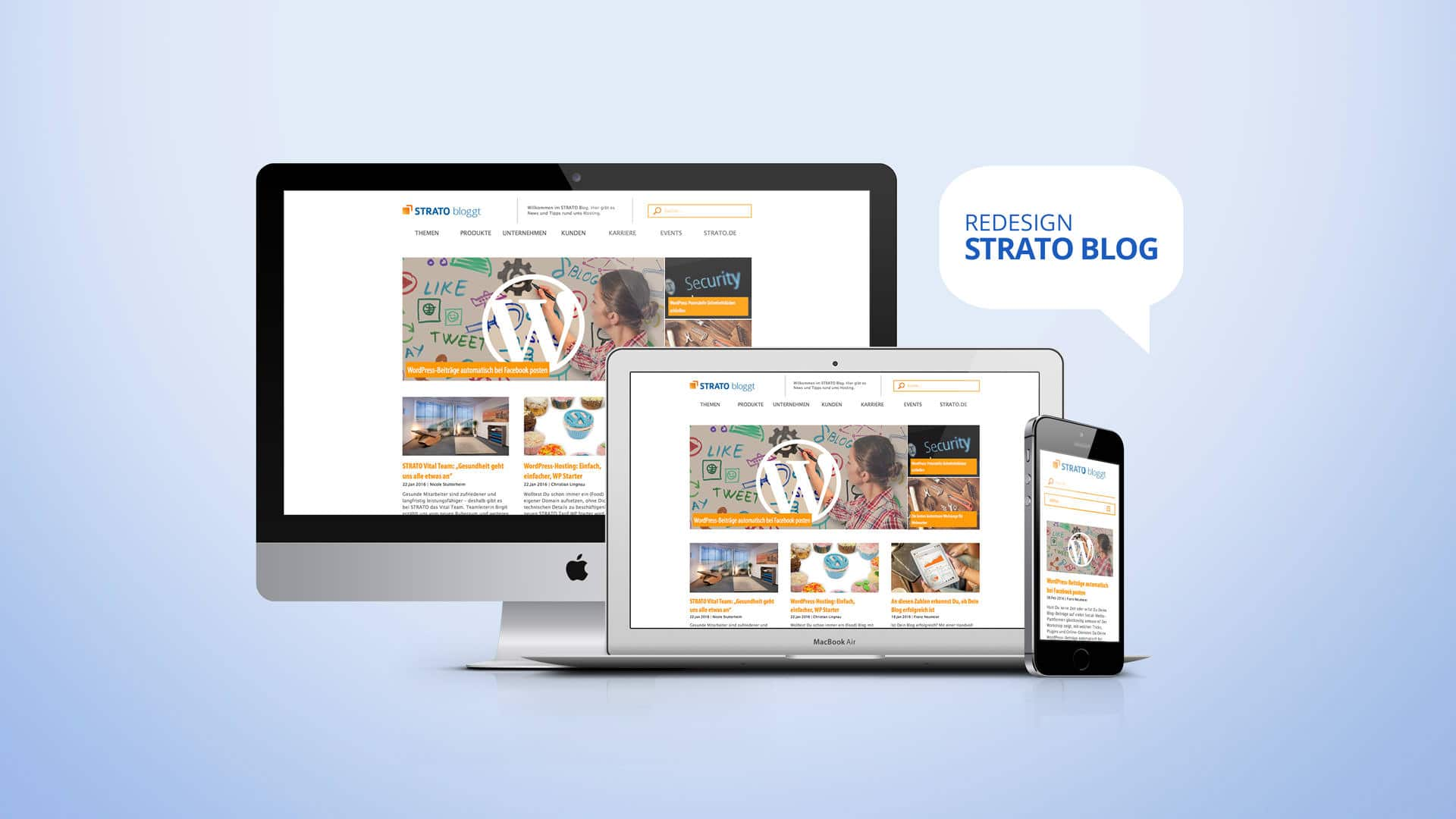 Redesign: Strato Blog