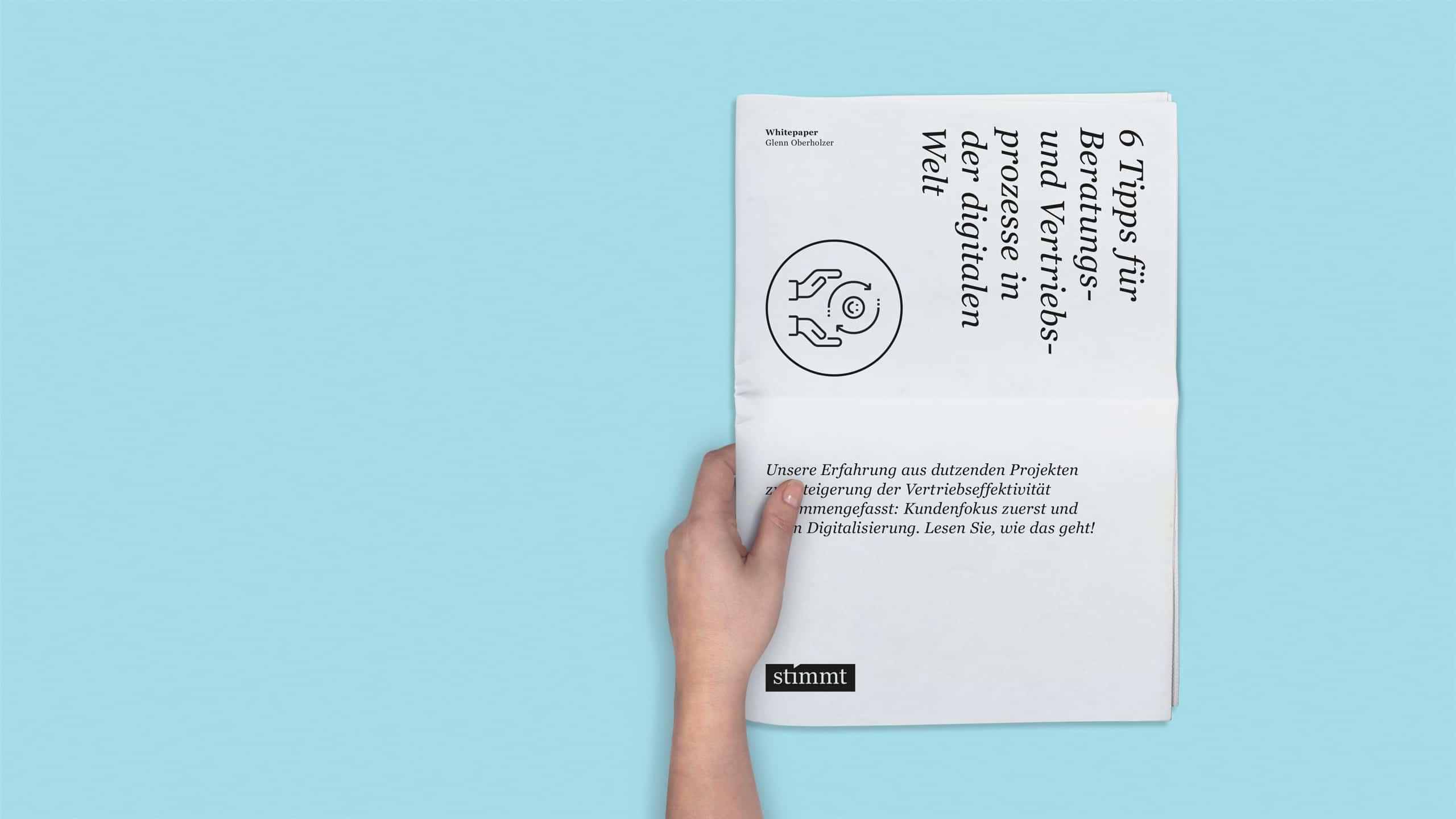 stimmt AG - whitepaper Design - Schweiz