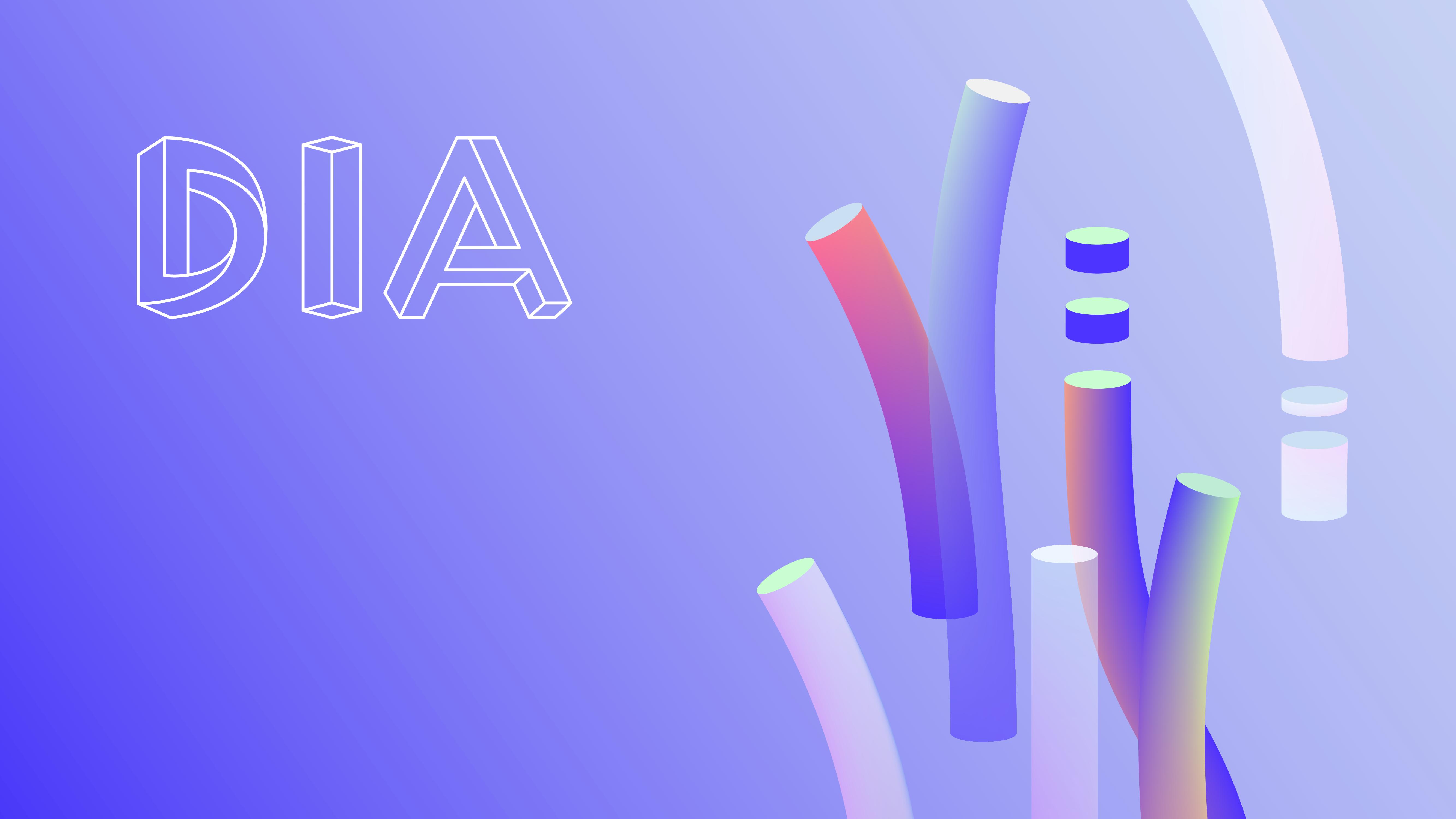 Digitales Branding für eine Crypto-Plattform – DIA